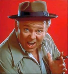 """Archie Bunker: """"Look it up!"""""""