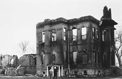 Old Main burned on May 8, 1970.
